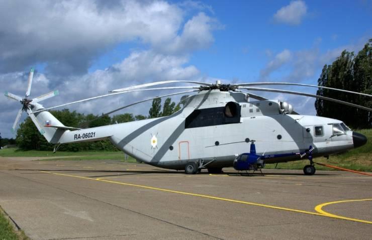 ми-26 — самый большойвертолет в мире