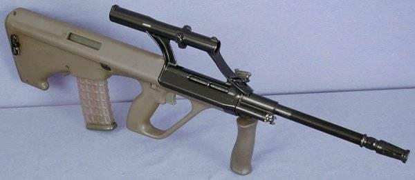 Штурмовая винтовка aug steyr («sturmgewehr-77»)