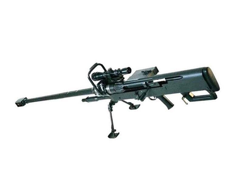 Крупнокалиберная снайперская винтовка mechem ntw-20