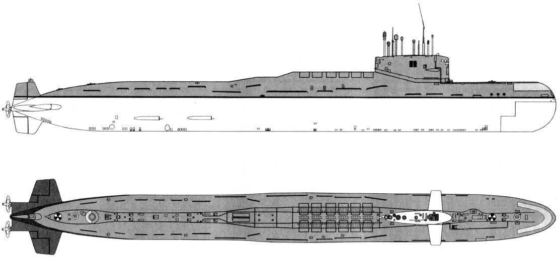 Подводные лодки проекта 667бдрм «дельфин» — википедия