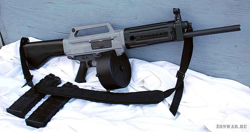 Гладкоствольное ружье USAS-12