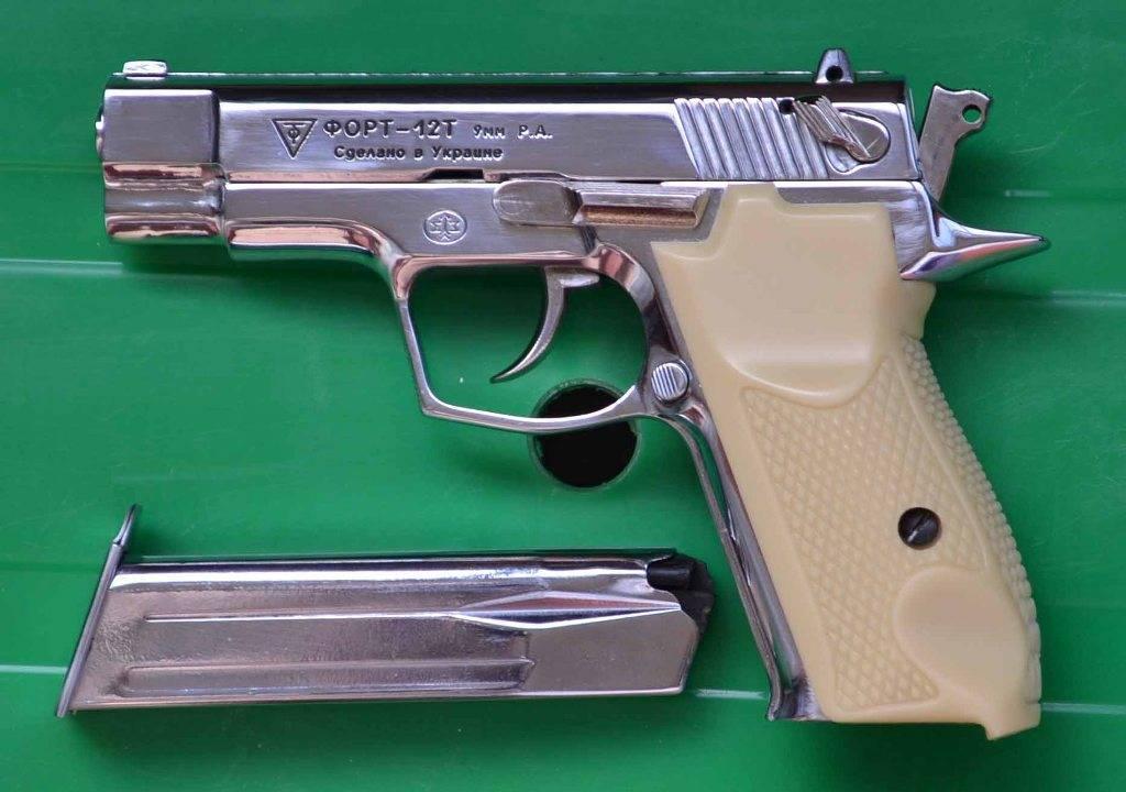 Форт 12 — история и конструкция травматического пистолета