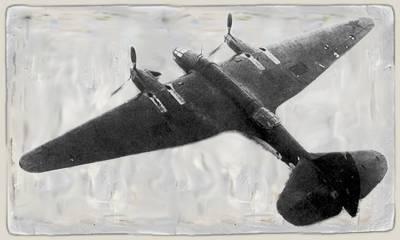 Архангельский и его пикирующий бомбардировщик Ар-2