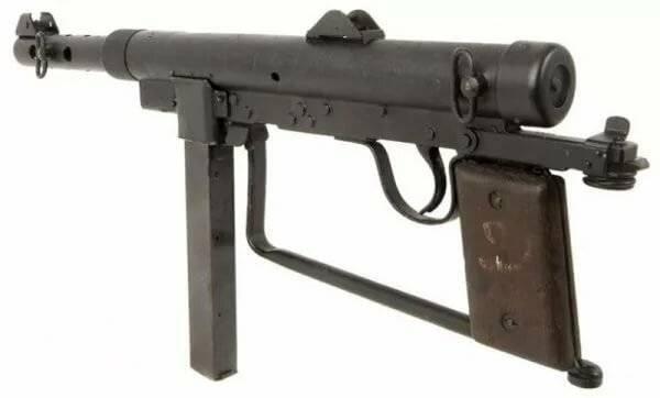 Пистолет-пулемет системы коровина образца 1941 года