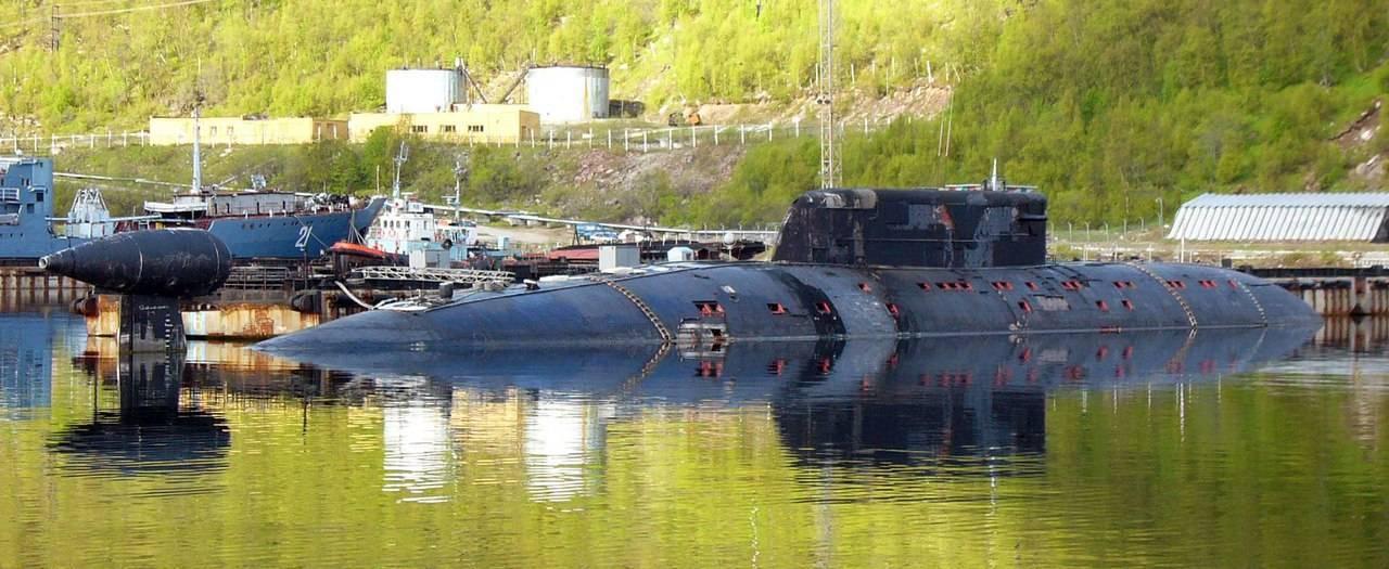 Подводные лодки проекта 945а «кондор»