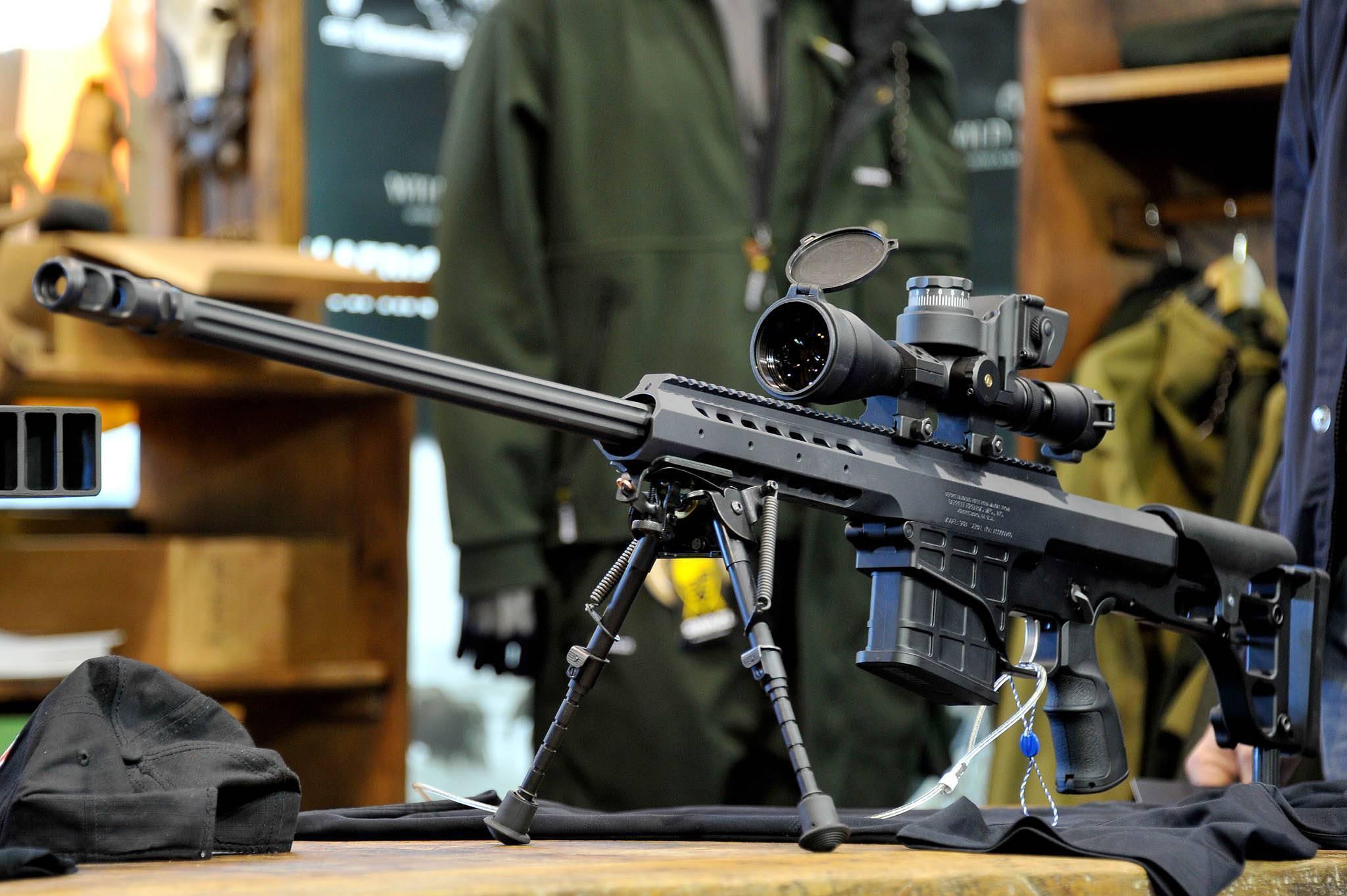Снайперская винтовка barrett m82: характеристики и описание