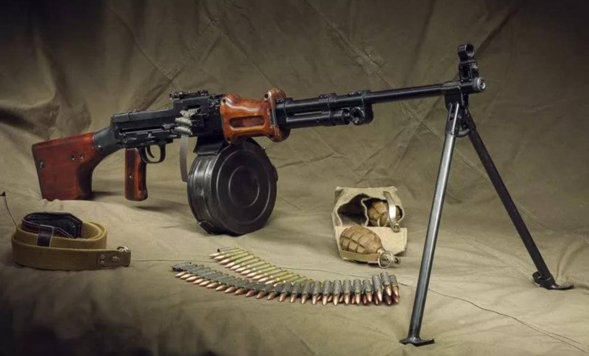 Ручной пулемёт дегтярёва — википедия