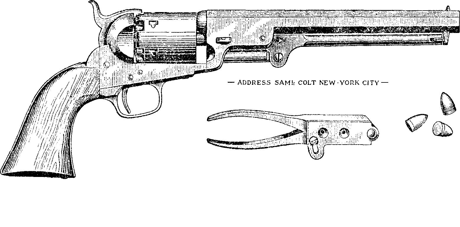 Револьвер кольта в трехмерном интерактивном симуляторе оружие героев