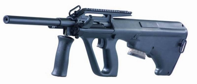 Австрийская винтовка Steyr AUG
