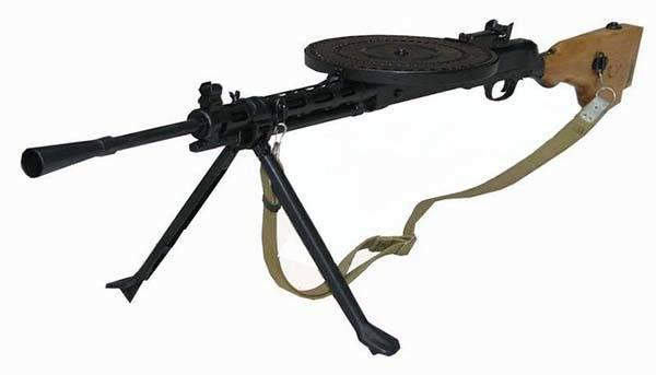 Пулемет системы Дегтярева – эталон, победивший время