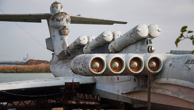 Экраноплан «лунь»: почему советский убийца авианосцев не пошел в серию | русская семерка