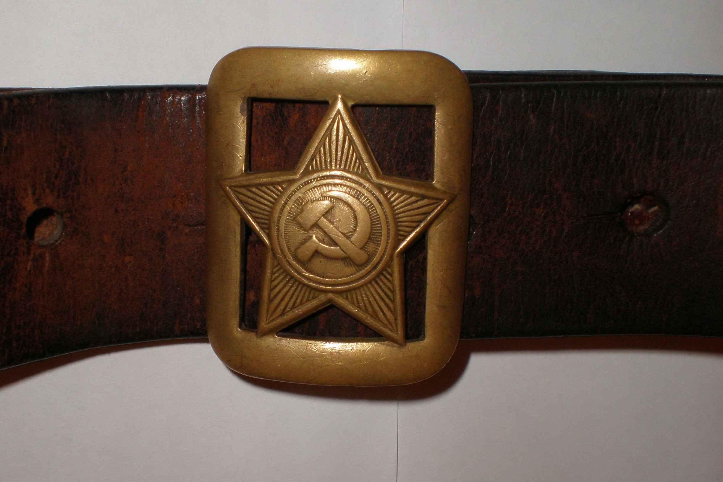 Армейский ремень: история и современность