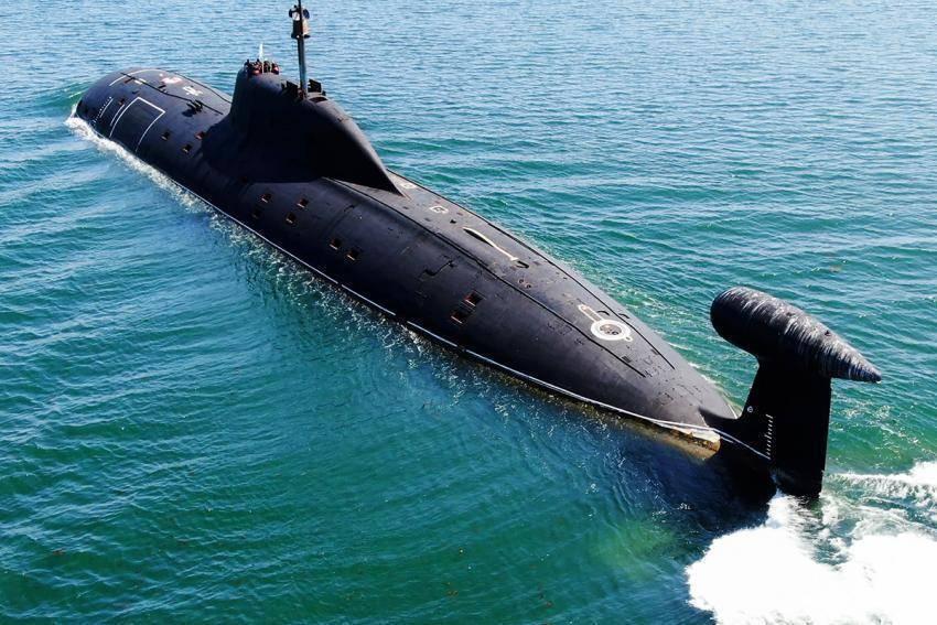 Проект 971 «щука-б» — атомные подводные лодки
