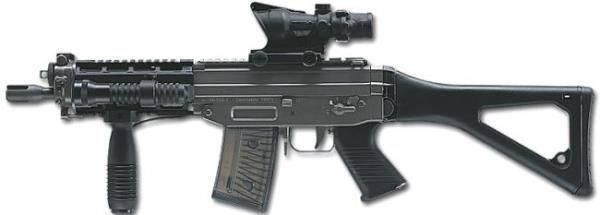 Штурмовая винтовка sig sg 751 sapr