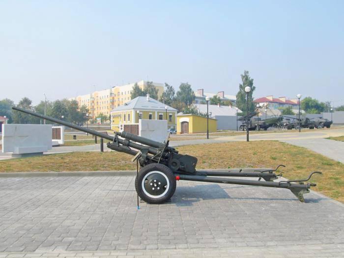 57 мм противотанковой пушки m1943 (зис-2) - 57 mm anti-tank gun m1943 (zis-2) - qwe.wiki