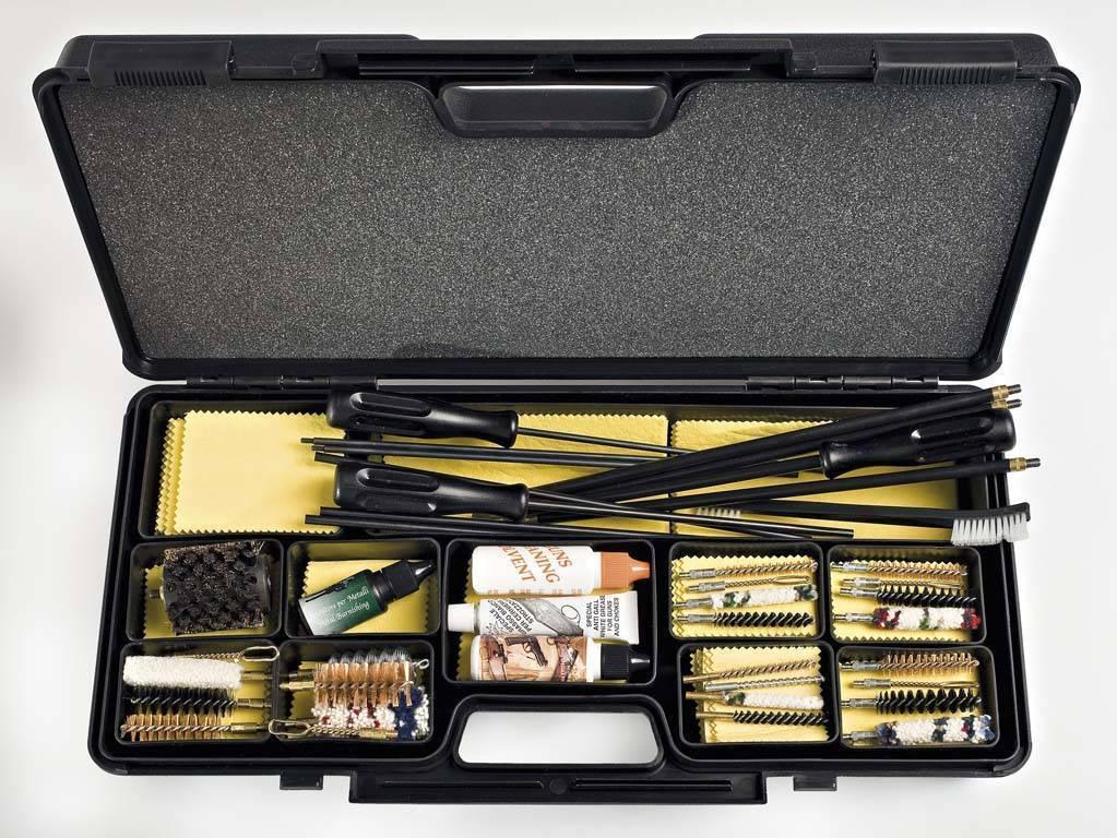 Уход и чистка огнестрельного и пневматического оружия