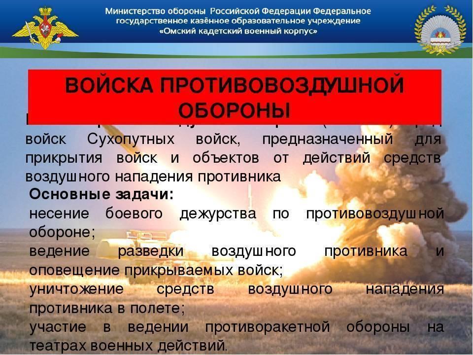Войска пво сухопутных войск российской федерации — википедия переиздание // wiki 2