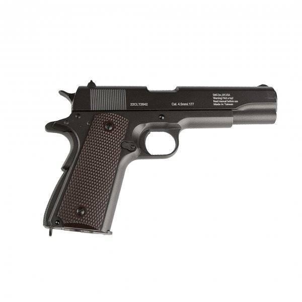 Пневматический пистолет кольт 1911 – модель gletcher clt 1911