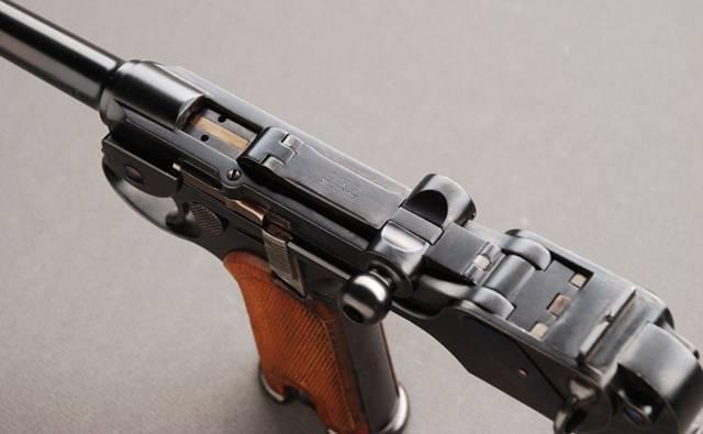 К-93 7,63-мм пистолет борхардта 1893 г (германия). - город.томск.ру