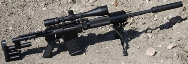 Снайперская винтовка mcmillan tac-308 / 300 / 338 / 416