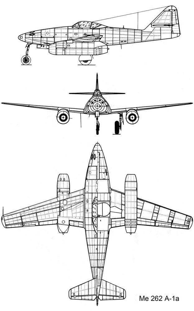 Истребитель «мессершмитт» me-262 | армии и солдаты. военная энциклопедия