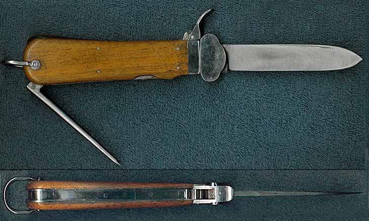 Гравитационный нож - нож люфтваффе, предназначенный для среза строп парашюта