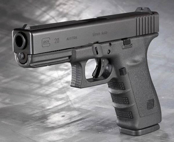 Взгляд на новый glock 43