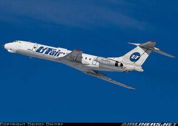 Ту-154 - фото, видео, характеристики самолета ту-154