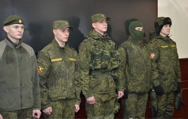 История военной формы российской армии, современное обмундирование