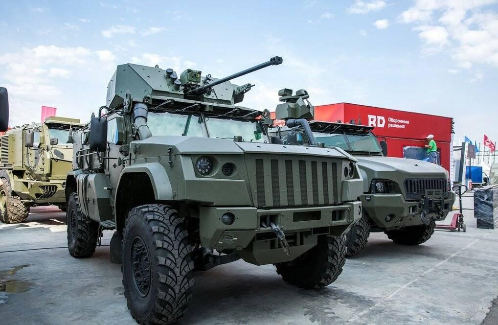 Бронемашины «Тайфун» – ветер перемен Российской армии