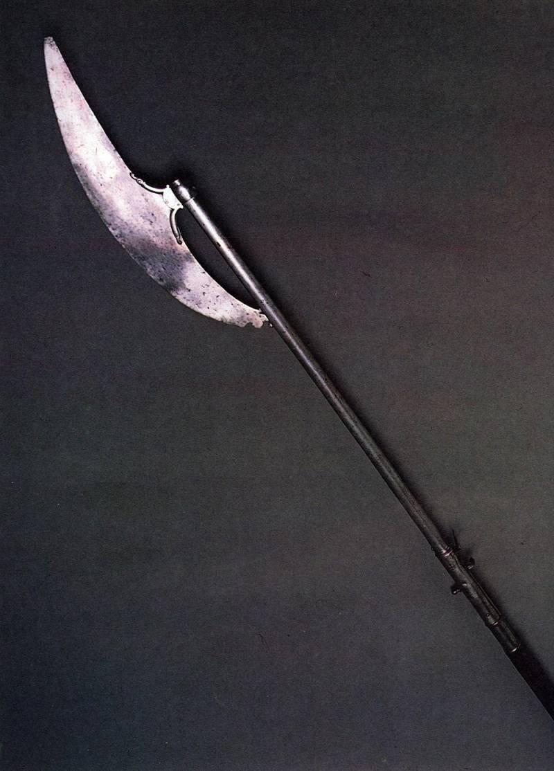 Бердыш-ружьё — википедия. что такое бердыш-ружьё