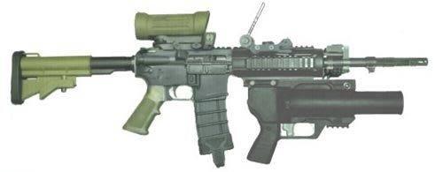 Штурмовая винтовка diemaco c7
