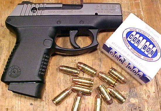 Пистолет Taurus серия Millennium