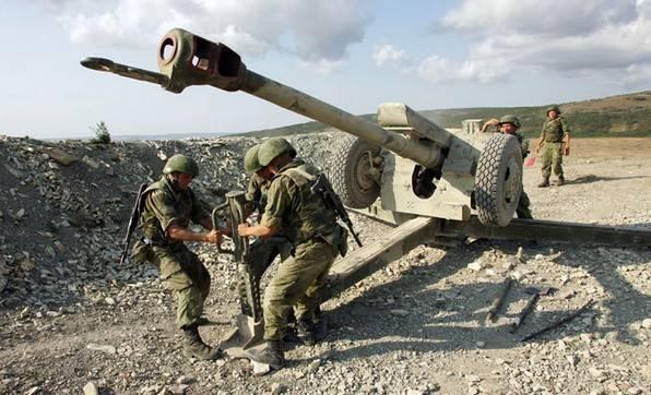 122-мм буксируемая гаубица д-30