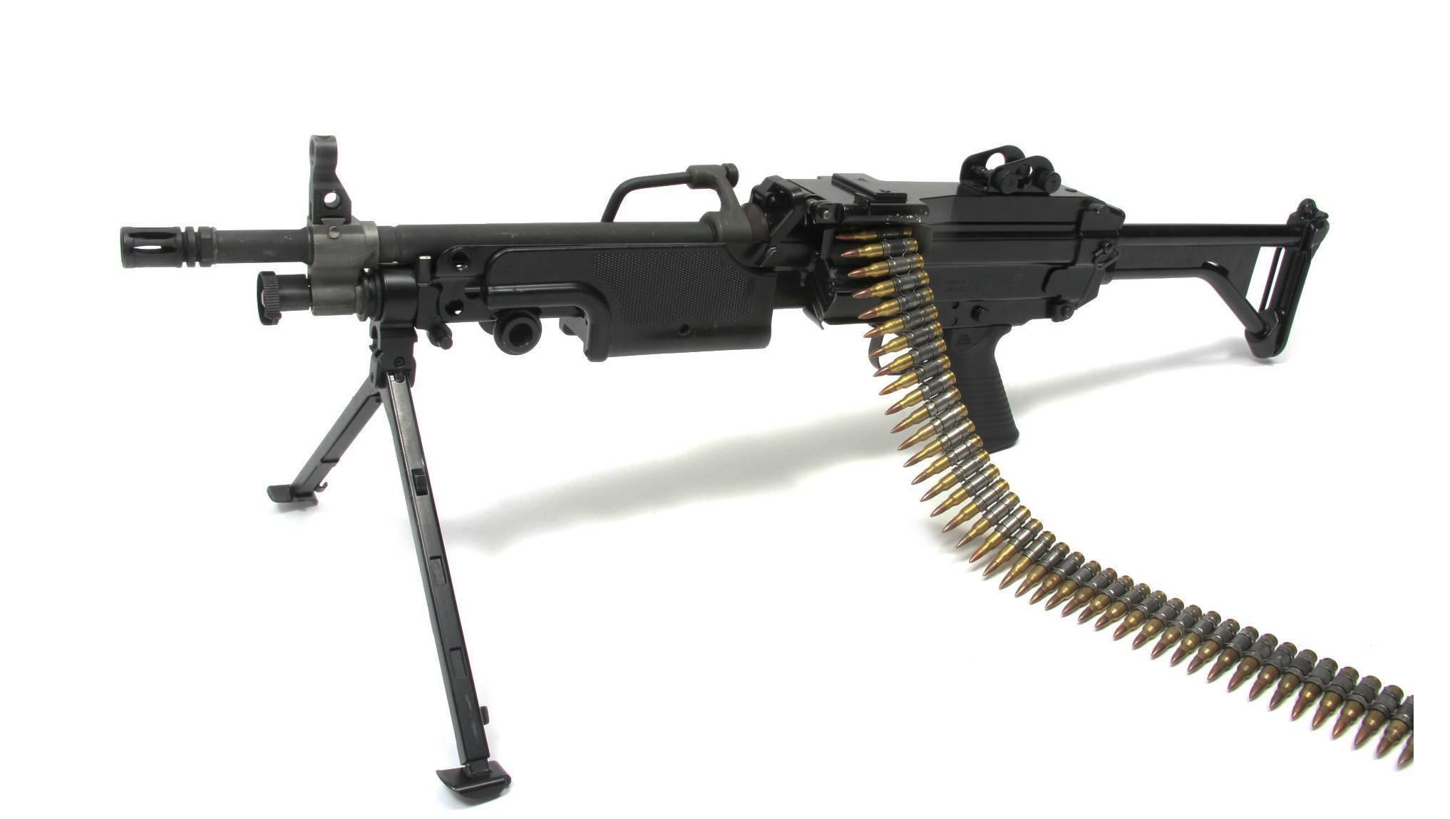 Пулемёт FN Minimi – максимальная огневая мощь при минимальных размерах