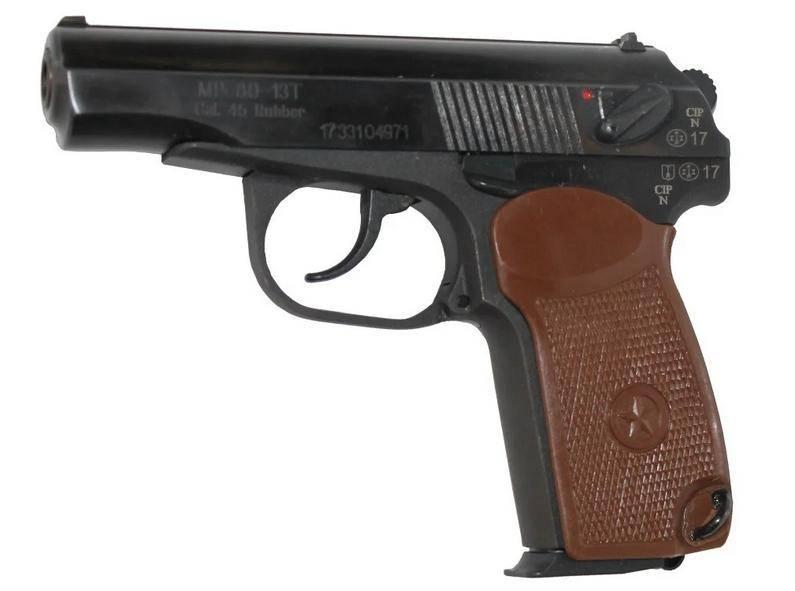 Почему травматический пистолет мр 80 13т так популярен?