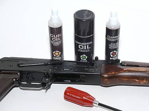 Правильная чистка нарезного огнестрельного оружия. уход за оружием
