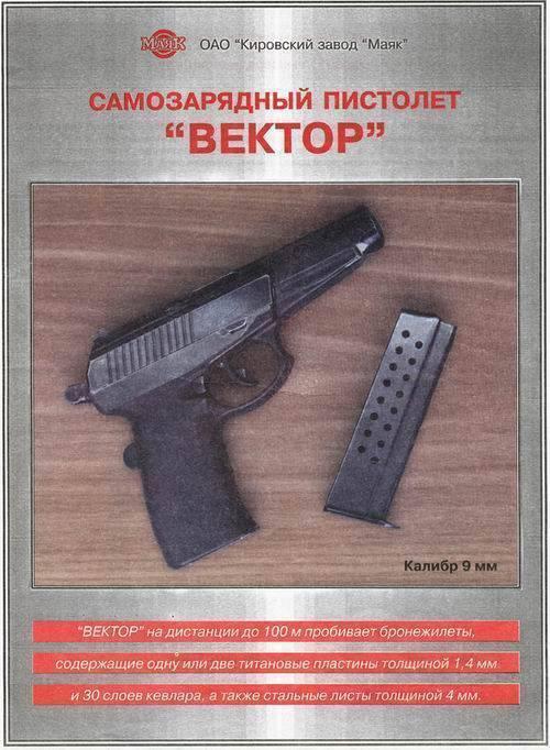 Самозарядный пистолет сердюкова википедия