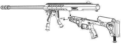 Barrett модель 98b - barrett model 98b
