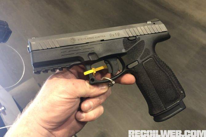Пистолет-пулемет steyr mpi-69