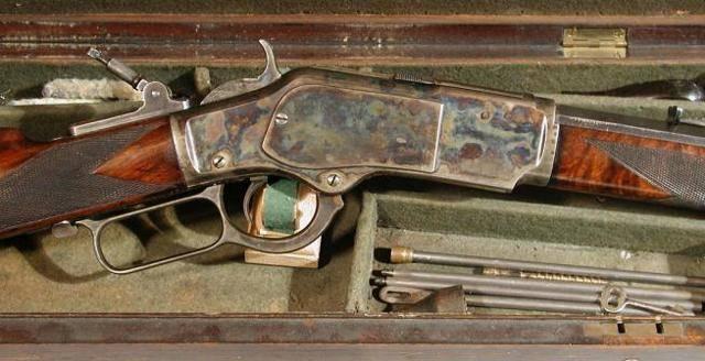 Гладкоствольное ружье Winchester M1897