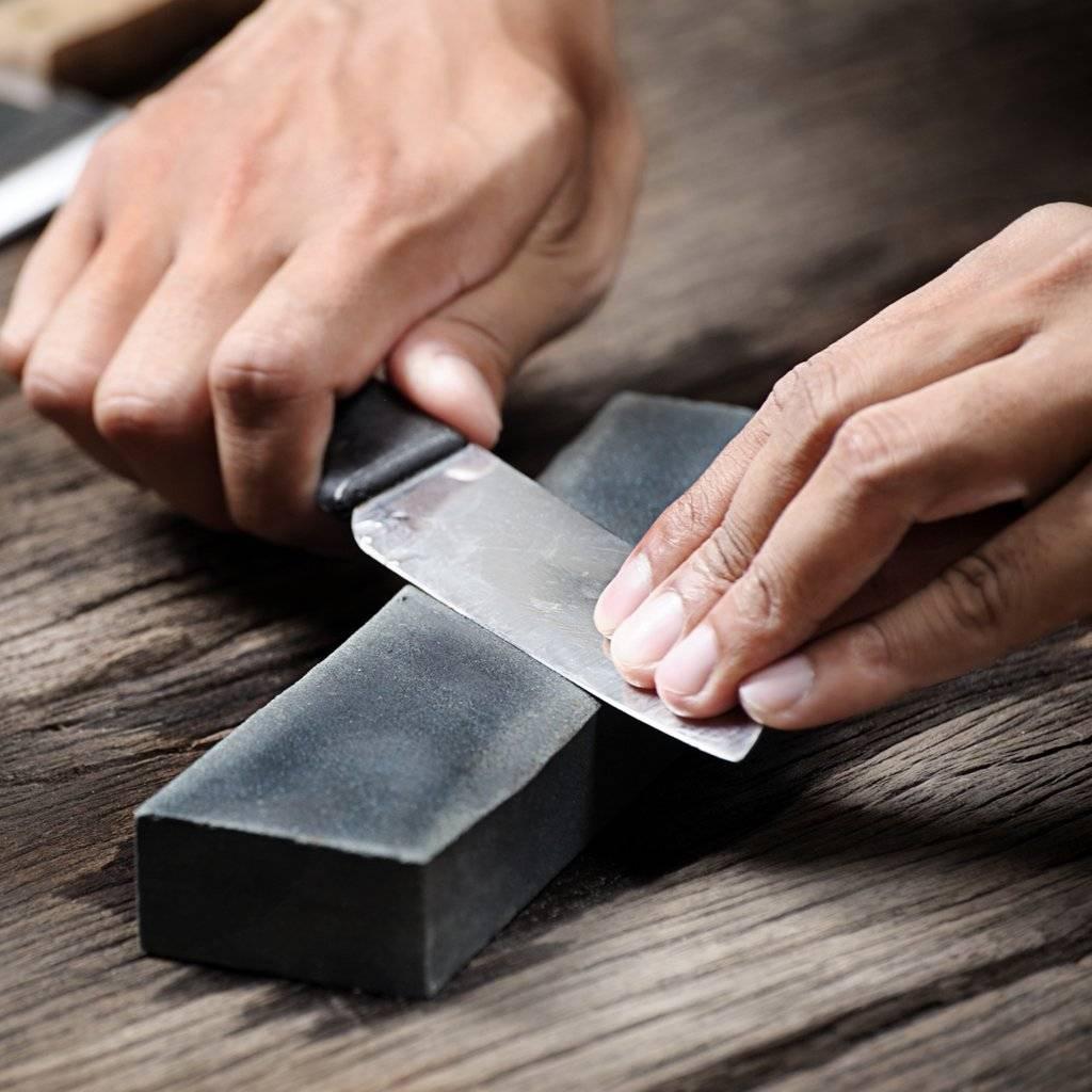 Заточка ножей: как наточить нож в домашних условиях