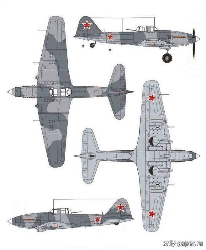 Самолет ил-2 штурмовик: технические характеристики