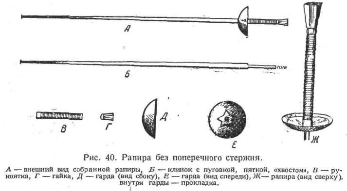 Рапира, шпага, сабля (в честь триумфа русских саблисток)