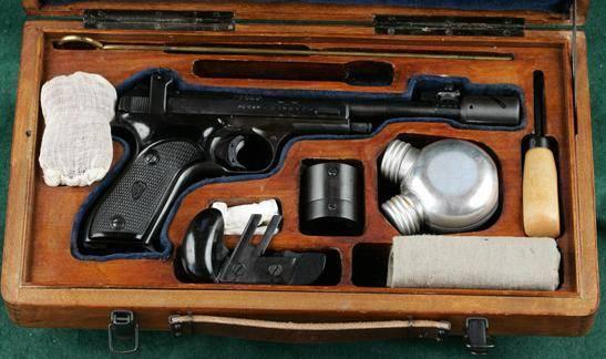 Михаил марголин и его пистолеты.