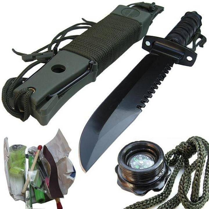 Выбираем ножи для выживания — обзор и видео лучших вариантов