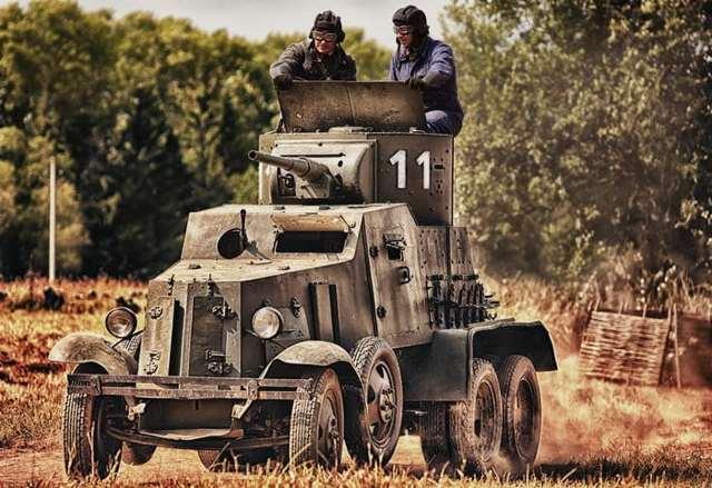 Средние бронеавтомобили баи,ба-3,ба-6