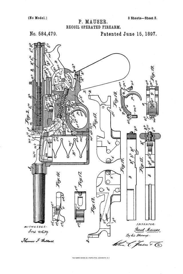 Винтовка Mauser M1895