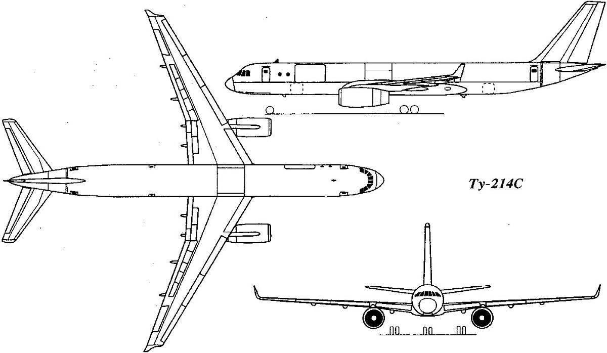 Ту-204. фото. видео. схема салона. характеристики. отзывы