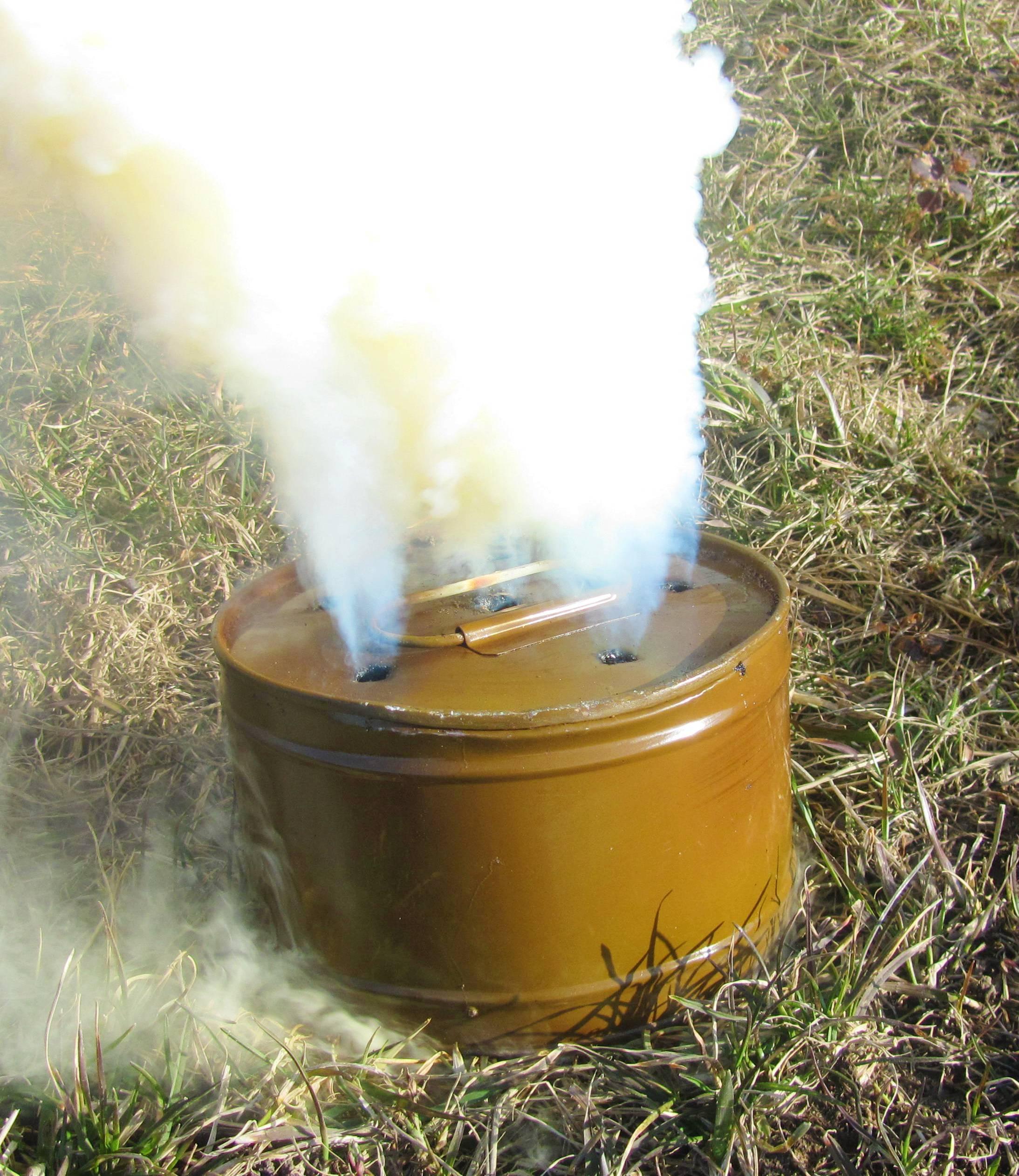 Серная дымовая шашка – инструкция по применению в погребе и теплице